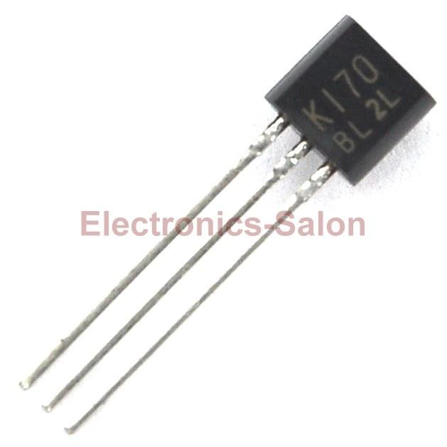 8 pcs lot 2SK170 BL Low Noise Audio FET K170 Transistor
