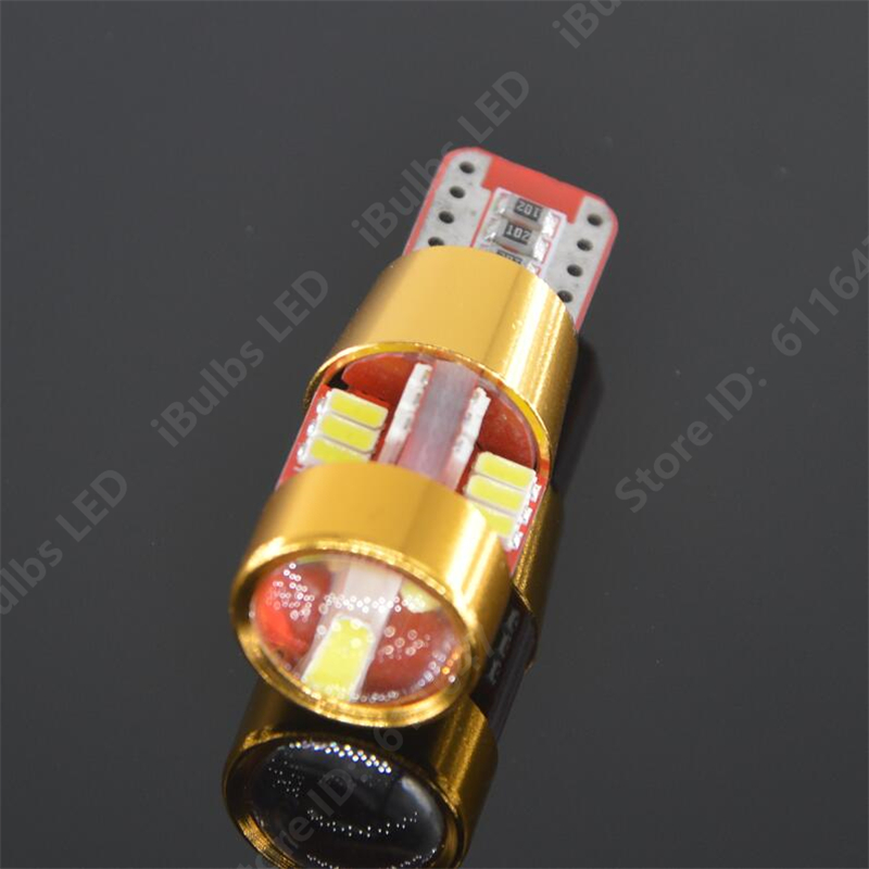100PCS Hot Sale T10 194 W5W 168 27 SMD LED 3014 Car Auto Canbus Marker Lamps
