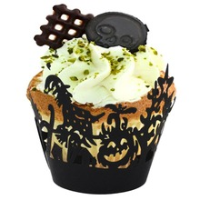 Halloween Cupcake Wrappers 12 pcs/set