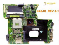 Original para ASUS K42JR portátil placa base K42JR REV 4,1 probado bueno envío gratis