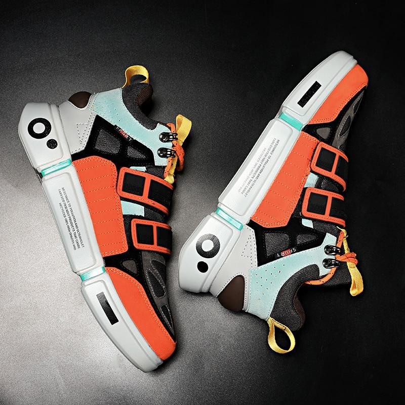 Times New Roman Fashion Men Sneakers High Top Casual Sneaker Shoes Lightweight Walking Male Sneakers Tenis Feminino Footwear