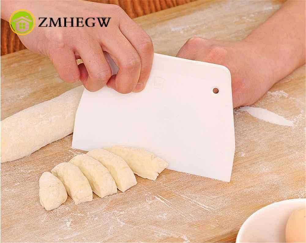Cream Cakes Dough Cutters Dough  Scraper Butter Knife Baking Pastry Spatulas Fondant Cake Decoration Tools Kitchen Accessories