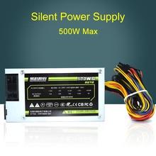 New 500W Silent Power Supply for AC-180V-240V 50Hz well tested