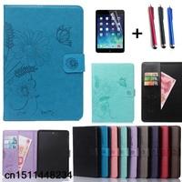 Luxury Flip stand Book cover case for ipad mini 1 2 3 ipad 2 3 4 5 6 ipad air air 2 air 3 ipad pro 9.7 PU leather Smart case