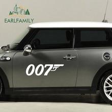 EARLFAMILY Spannende Detektiv Spy Filme James Bond 007 Auto Aufkleber Wand Fenster Tür Auto Seite Wohnkultur Vinyl Aufkleber 9 farbe