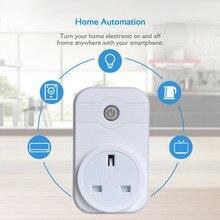 Smart Wifi wireless Power Socket Plug Wireless Switch Remote Controls Support Amazon Alexa by IOS Pad