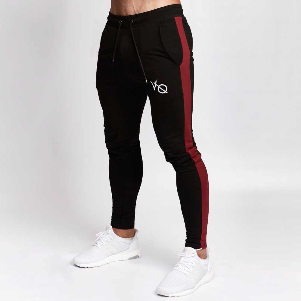 2647b048aa ... 2018 Brand Pants Man Gyms Joggers Sweatpants Summer Pants Men Fitness Workout  Sporting Fitness Male Breathable ...