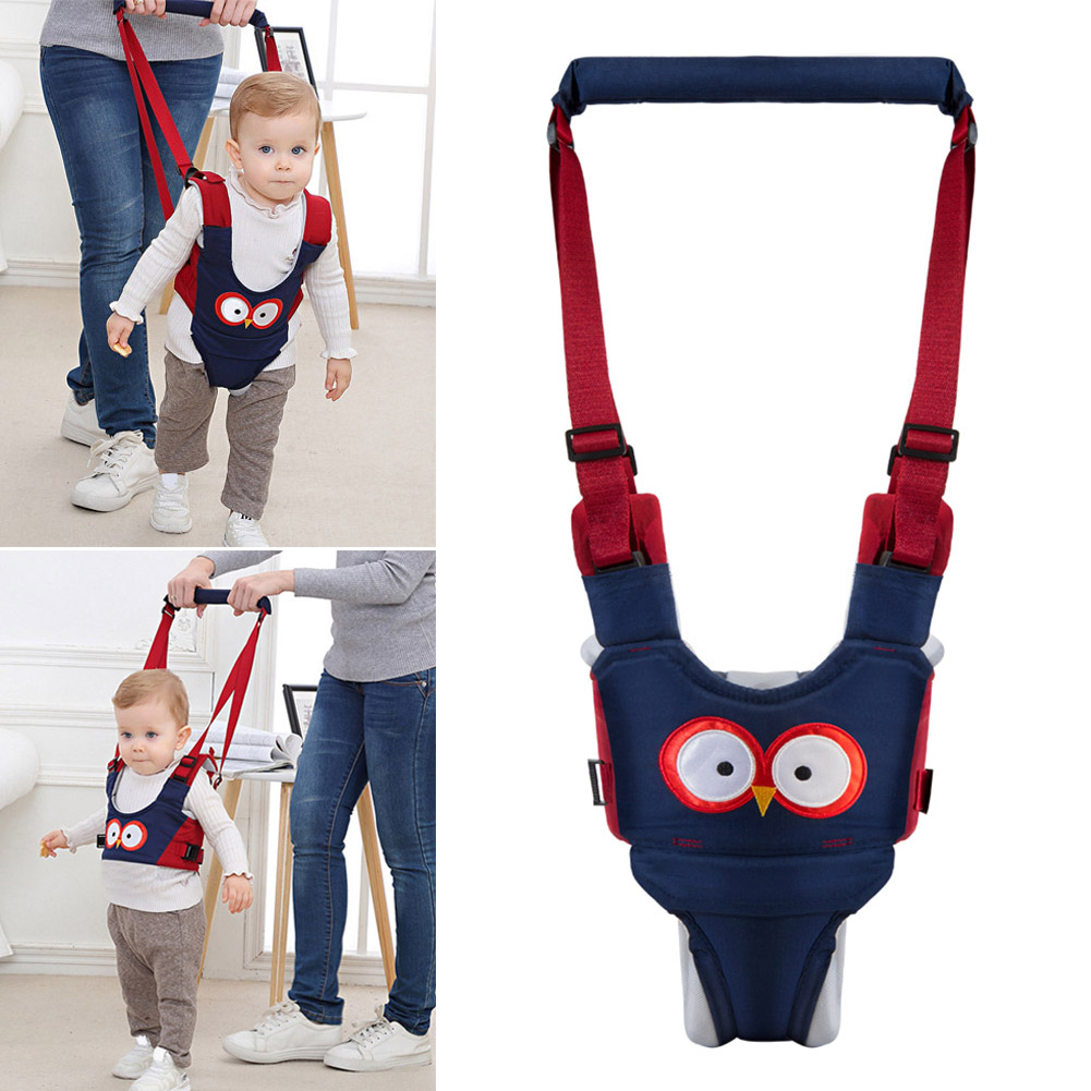 Baby Toddler Walking Assistant Protective Belt Carry Trooper Harness Learning Walk Aid BM88