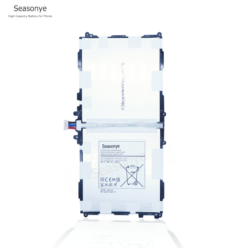 Seasonye 8220mAh T8220E / T8220U / T8220C Replacement <font><b>Battery</b></font> For <font><b>Samsung</b></font> galaxy P600 T520 P601 P605 P607 <font><b>Note</b></font> <font><b>10.1</b></font> <font><b>2014</b></font> <font><b>Edition</b></font> image