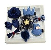 Kawaii Bowknot Baby Girls Hair Clips Pin Bows Headwear Kids Hairpin Accessories For Children Hair Ornaments
