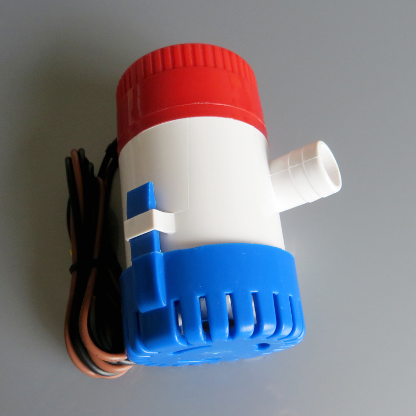 24V 750GPH Bilge Pump 2m3/h small DC Submersible water pump for Fountain garden irrigation swimming pool cleaning farming mkbp g750 24 24v 750gph bilge pump small dc submersible water pump for fountain garden irrigation swimming pool cleaning farming