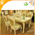 1.4 meter european Dining table with 4 pcs dining chair