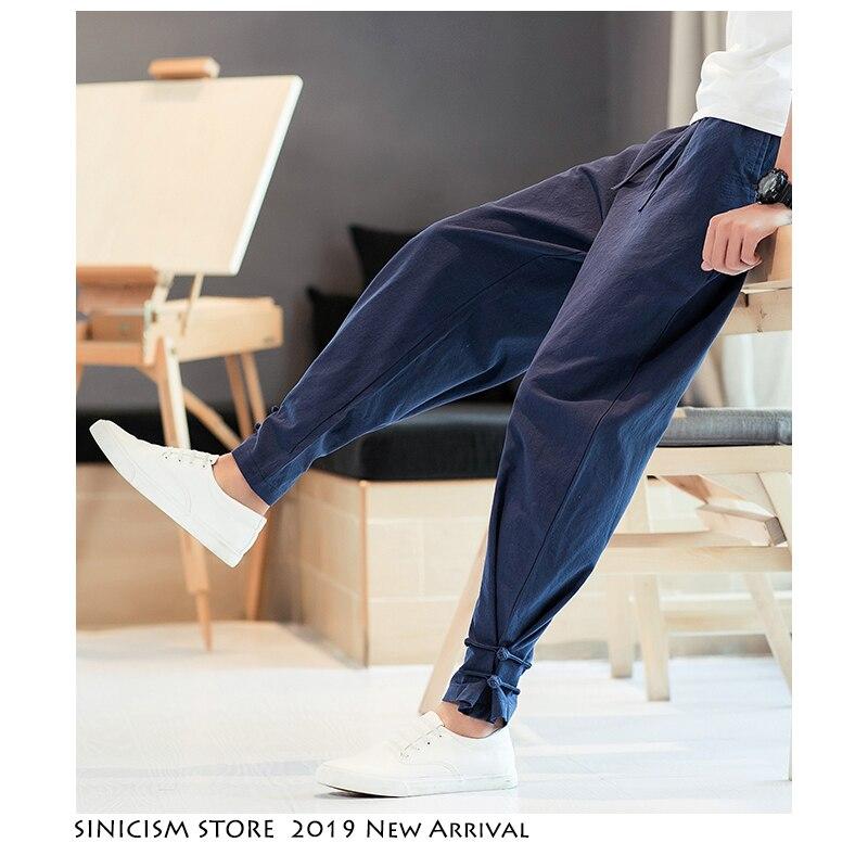 Sinicism Store Men Streetwear Joggers 2019 Mens Casual Spring Funny Track SweatPants Male Cotton Harem Jogger Hip Hop Fashions