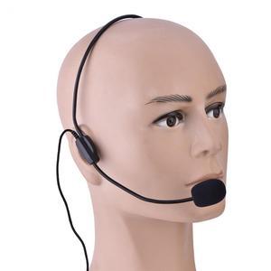 Image 2 - Mini przenośny zestaw słuchawkowy z mikrofonem Microfone 3.5mm Jack Wire Mikrofon do głośnika Mikrofon kolumnowy do głośnika i komputera