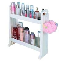 Bathroom cosmetics storage rack washbasin plastic shelf kitchen storage rack