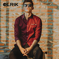 OLRIK 2016 Spring Autumn Men Shirts Cotton Business Dress Regular Fit Casual Shirt Men Long Sleeve Mens Shirt Big Size M-5XL