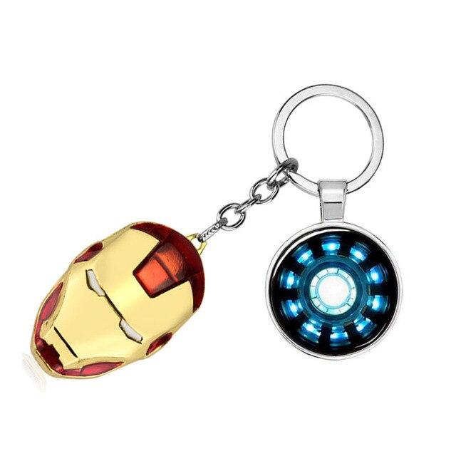 Qiyufang Os Vingadores Capitão América Batman Marvel Superhero Star Escudo Pingente Chave Keychain Chave Do Carro Chaveiro Cadeia de Acessórios