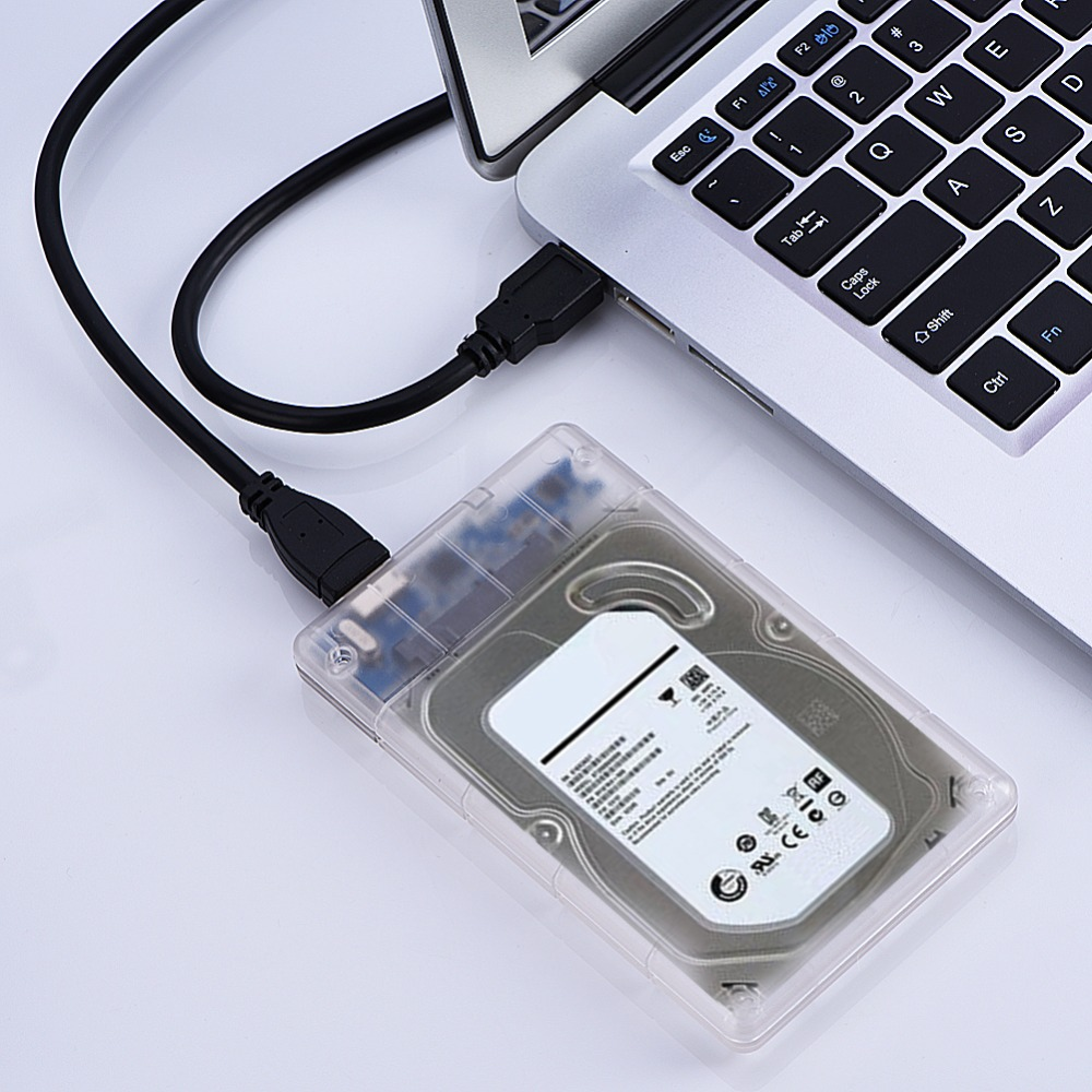 2.5 SATA VERS USB 3.0 Disque Dur Boîtier de Disque HDD SSD Boîte De Rangement Cas