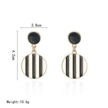 Newest Fashion Women Stud Earrings Unquie Design Geometric Ear Jewelry Wholesale And Dropshipping 1