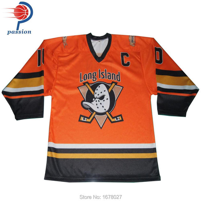 128063edf Long Island Orange Pro Hockey Jerseys With Custom Team Logos numbers names  customized