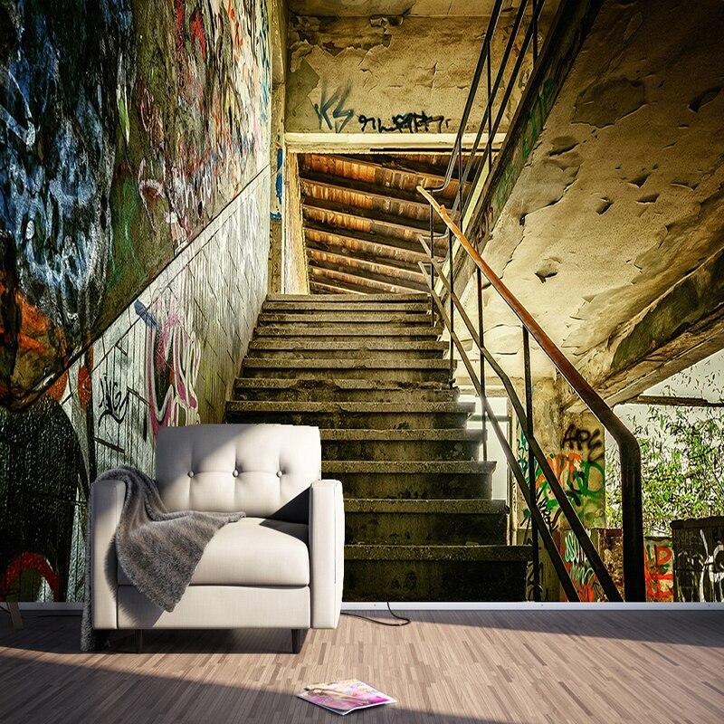 Kustom Ukuran 3D Dinding Mural Wallpaper Kepribadian
