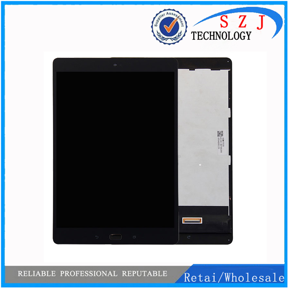 New For ASUS ZenPad 3S 10 Z500M P027 Z500KL P001 Z500 LCD Display Matrix Touch Screen Digitizer Sensor Tablet PC Assembly Frame