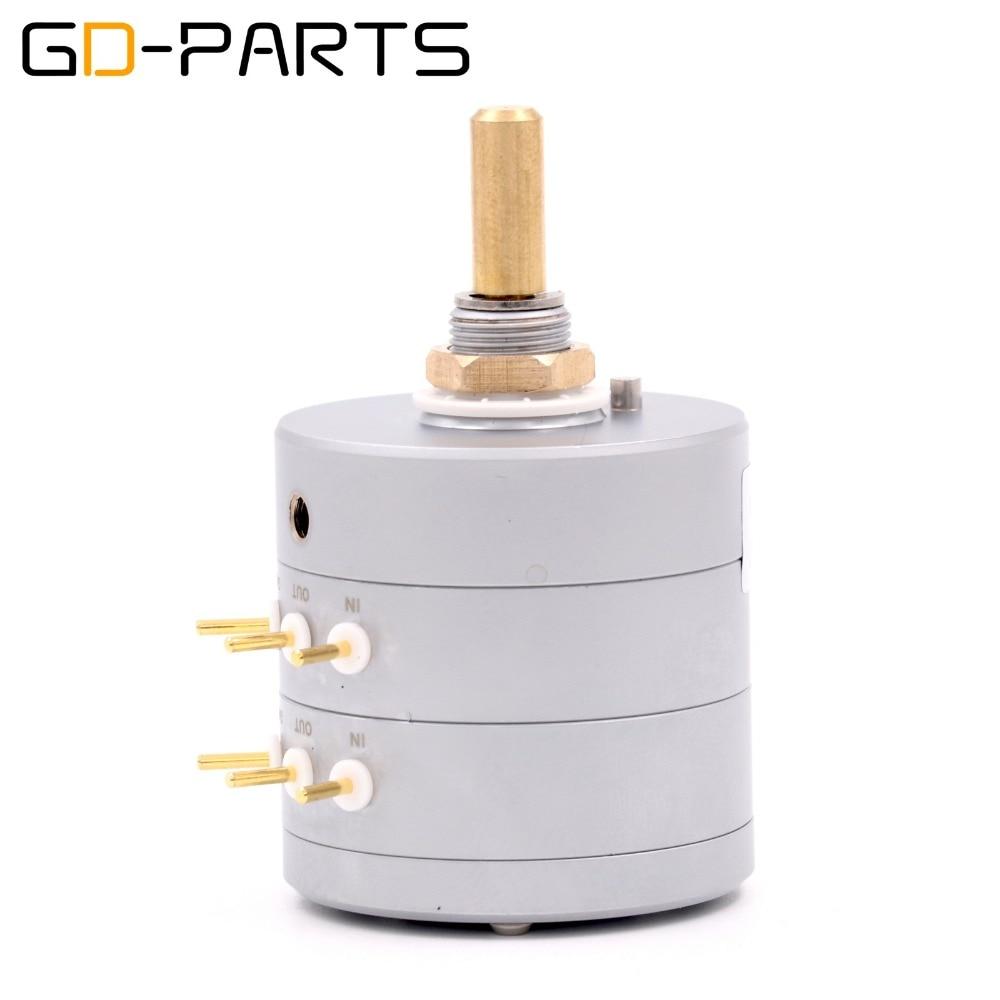 EIZZ LOG 100 K 24 étapes atténuateur stéréo série Type potentiomètre de Volume haut-parleur Hifi platine vinyle CD DAC amplificateur contrôle du Volume - 2