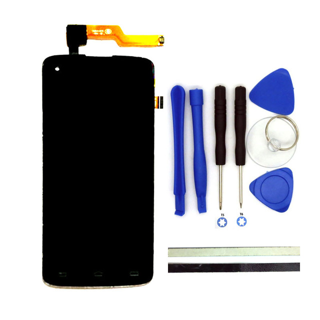 100% Original For Philips I908 LCD Display + Digitizer Touch Screen Replacement Cell Phone Parts Black With Free Tools