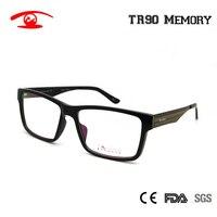 2016 New TR90 Eyeglasses Frame White Black Women Men Vintage Glasses Full Rim Prescription Lenses Spectacles Optical Eyewear