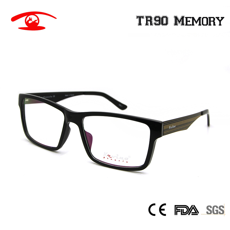 clear lens with white plastic frame eyeglasses. brand name ...