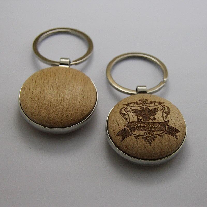 도매 50 pcs 빈 나무 키 체인 diy 프로 모션 사용자 지정 키 태그 프로 모션 고품질 선물 무료 배송-에서열쇠고리부터 쥬얼리 및 액세서리 의  그룹 3