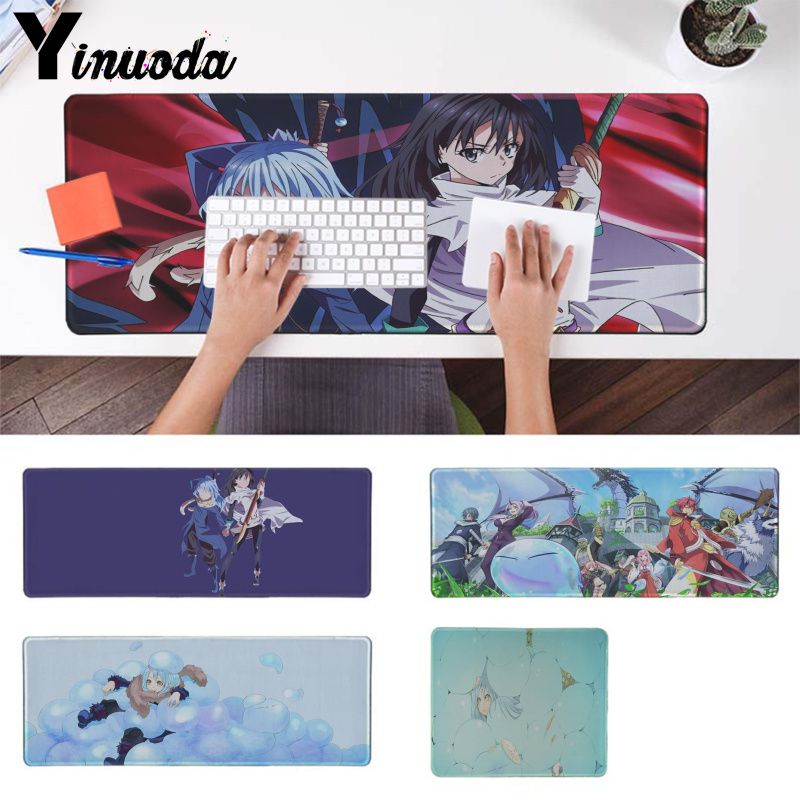 Yinuoda New Arrivals RIMURU TEMPEST Locking Edge Mouse Pad Game Rubber PC Computer Gaming Mousepad