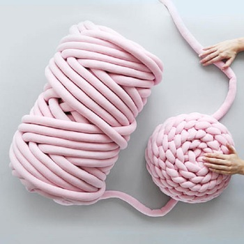 супер громоздкие руки вязание шерсть ровинг вязаное одеяло мохнатая