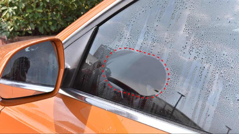 1 par de coches a prueba de lluvia espejo retrovisor película protectora para Land Rover LR4 LR3 LR2 Range Rover Evoque Defender descubrimiento Freelander
