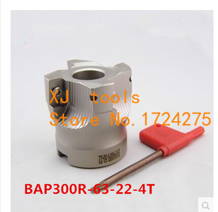 BAP300R 63 22 4T 90 Degree Right Angle Shoulder Face Mill Head CNC Milling Cutter milling cutter tools carbide Insert  APMT1135|cnc milling cutter|milling cutter tools|milling cutter - title=