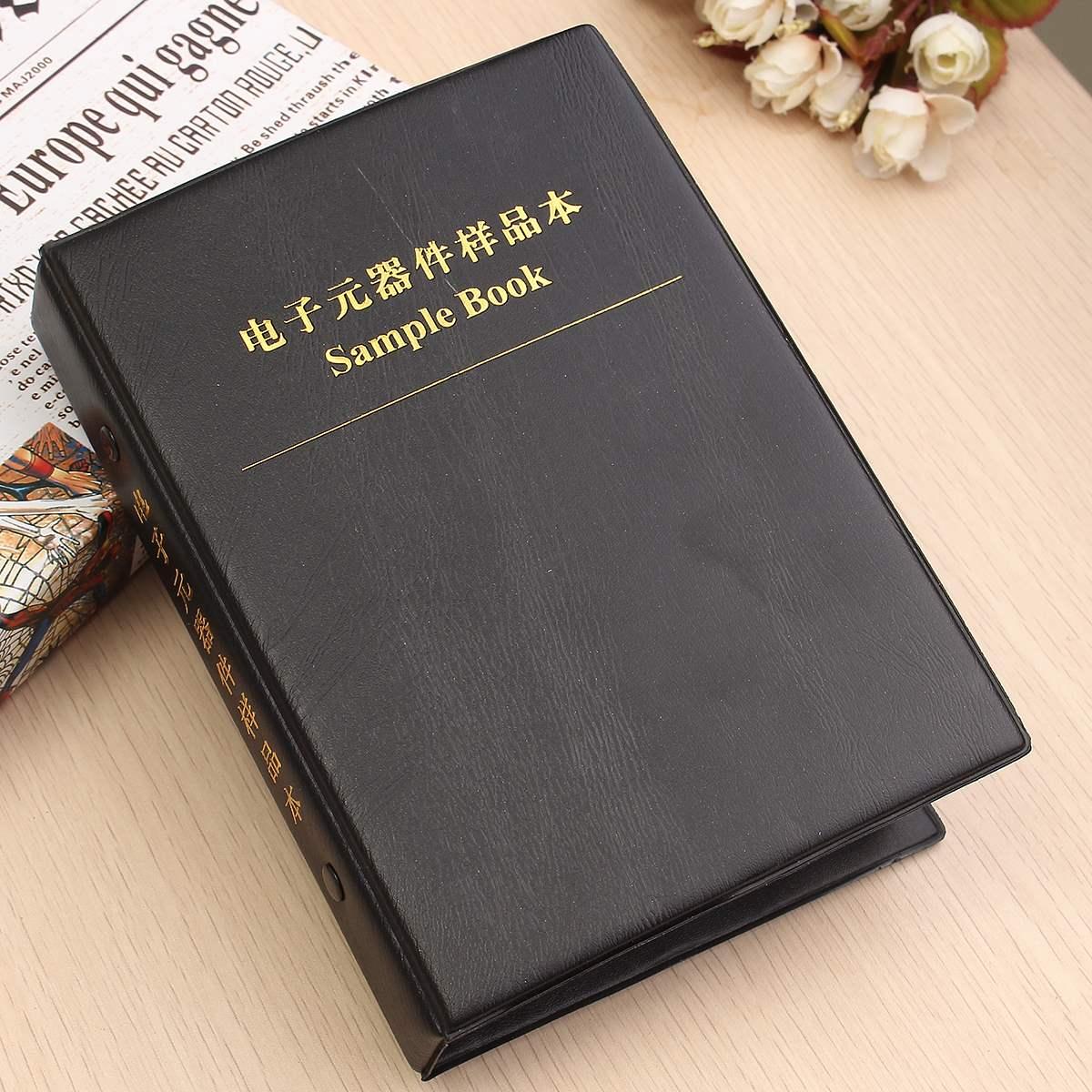 Heiße Neue 0805 1% SMD SMT Chip Widerstände Sortiment Kit 170 Werte x50 Assorted Sample Buch 13,5 cm x 3 cm x 19 cm