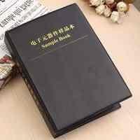 Hot New 0805 1% SMD SMT Chip Resistors Assortment Kit 170Values x50 Assorted Sample Book 13.5cm x 3cm x 19cm