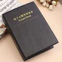 Hot New 0805 1% SMD SMT Con Chip Điện Trở Assortment Kit 170 Giá Trị x50 Các Loại Cuốn Sách Mẫu 13.5 cm x 3 cm x 19 cm