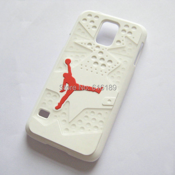 samsung galaxy s5 3d cases. 3d pvc rubber jordan case for samsung galaxy s5 xi bred space jam sole 3d cases