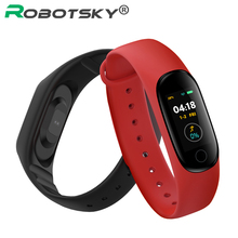 Newest M4 Smart Band Fitness Tracker Heart Rate Monitor Smart Bracelet Color Screen Bluetooth 5.0 Sports Wristband PK Mi Band 4 newest c5 heart rate monitor smart wristband bluetooth 4 2 smart bracelet doe andriod ios system