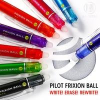Andsta Pilot Frixion Retractable Erasable Pen 0.5mm Erasable Gel Ink Pens refill Pen writes erases blue heat transfer vanish pen