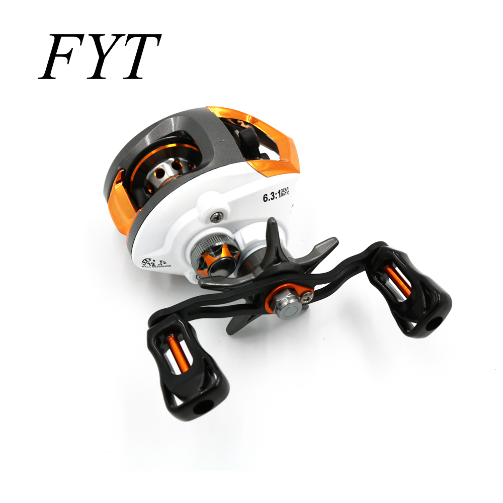 12 + 1 Bearings Waterproof Left / Right Hand Baitcasting Fishing Reel High Speed Fishing Reel With Magnetic Brake System LP200