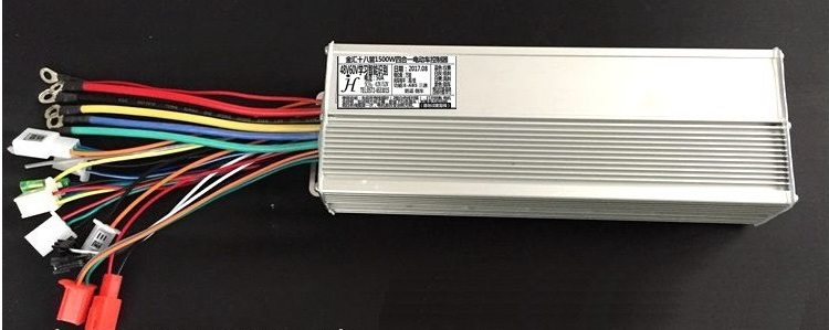 Free Shipping Sinewave controller Sinusoidal 1500W 48~60V 18 mofset MAX 50A Suit DC brushless motor 800~1500W E-bike electric free shipping 40pcs lot fqp50n06 50n06 50a 60v line to 220 new original