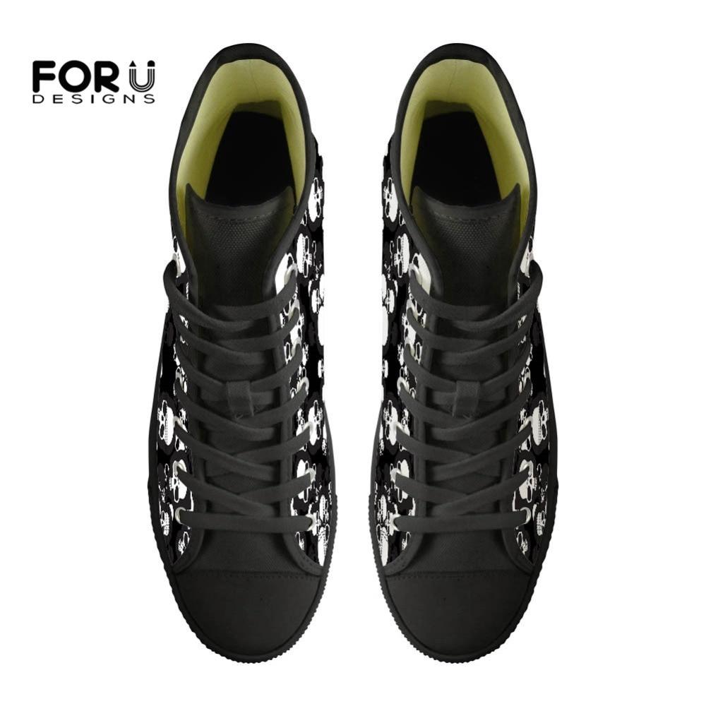 3d Z40 Printemps Designer Chaussures Cool Marque Appartements ca4751z38 ca4775z38 custom High Noir Vulcanisé Z38 Dames Casual Custom Sneakers Toile Crâne Forudesigns Top Femmes q6Rtwt