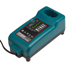 Image 3 - Makita ni cd Ni MH 7.2V ~ 18V pil şarj cihazı için DC7100 DC711 DC9710 DC18RA DC18SE yedek pil şarj cihazı + seyahat adaptörü