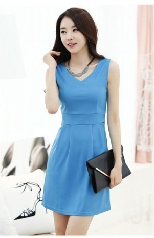 159ada4ccb8 Cool Summer Women s Fashion Summer Style Tight Vest Dress Comfortable  Cotton Sleeveless Bottoming Slim Dress Vestidos