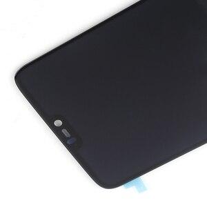 Image 5 - AMOLED מקורי LCD תצוגה עבור Oneplus 6 תצוגת מגע מסך החלפת ערכת 6.28 סנטימטרים 2280*1080 זכוכית מסך + כלים