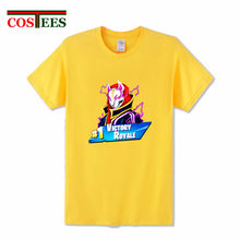 b93c8da1 Trendy game Fortnite Drift Chibi T shirt men Fortnite Victory tshirt  streetwear Tees male No.