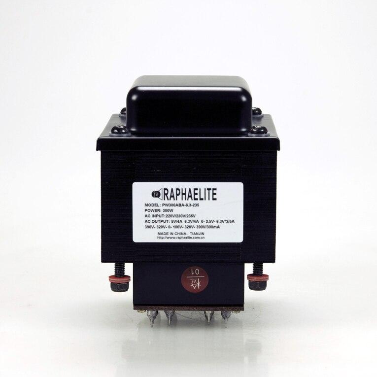 GZbotolave Raphaelite PW300ABA-6.3-230 amplificateur transformateur de puissance applicable 6550 300B KT88 ampli à lampes