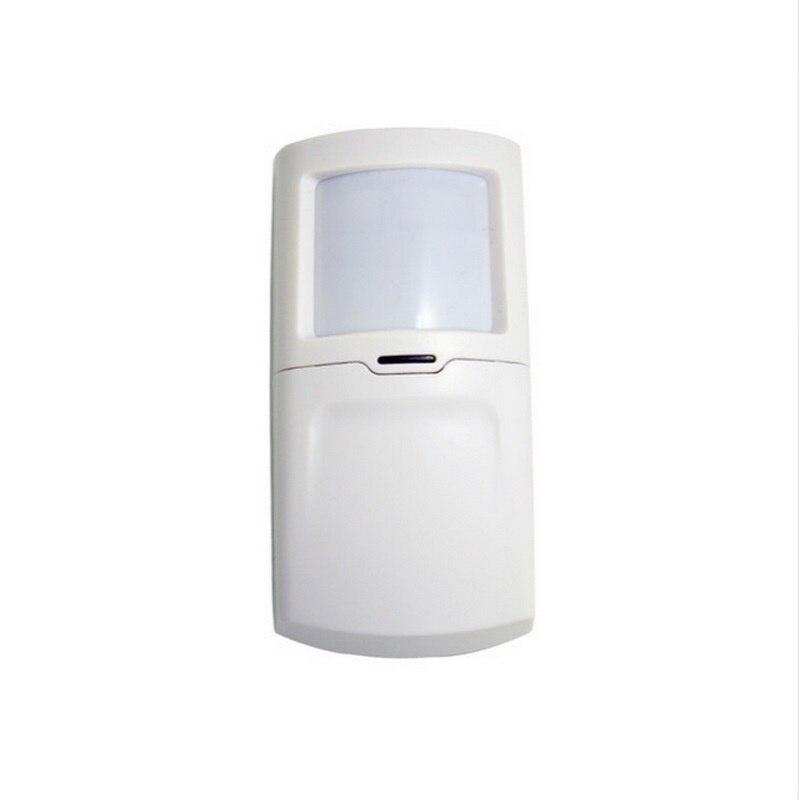 (1 PCS) Wolf-guard wireless infrared detector 433Mhz self-defense burglar <font><b>Alarm</b></font> PIR motion sensor <font><b>GSM</b></font> <font><b>system</b></font> No include <font><b>battery</b></font>